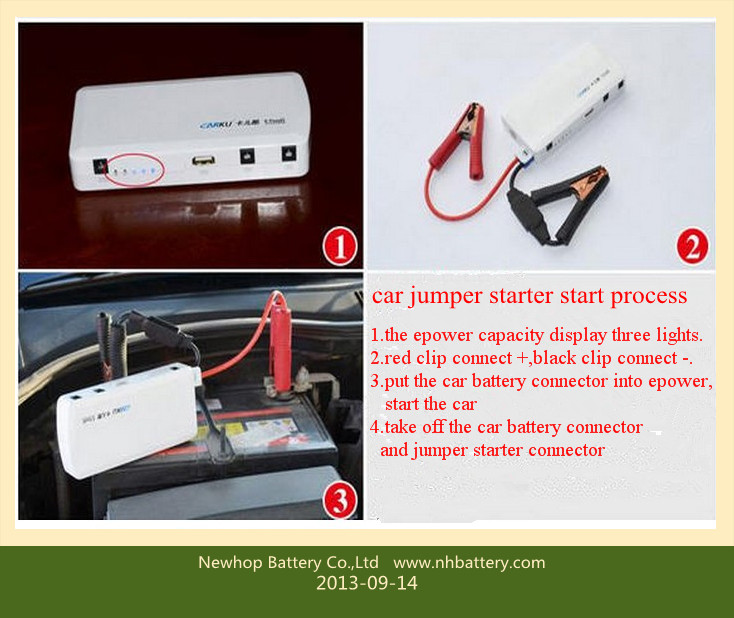 12v 12000mAh car jump starter jumper starter for car multifunction jump starter
