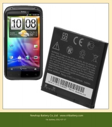 replacement battery for HTC smart phones